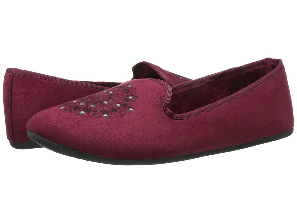 Daniel Green - Madge (Burgundy) Women's Slippers