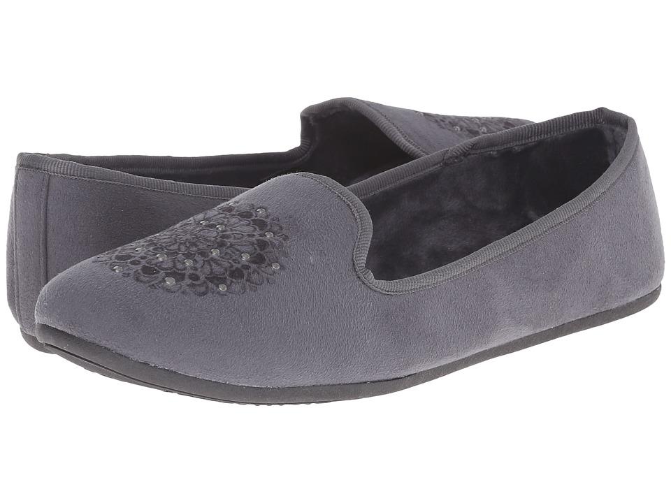 Daniel Green - Madge (Charcoal) Women's Slippers