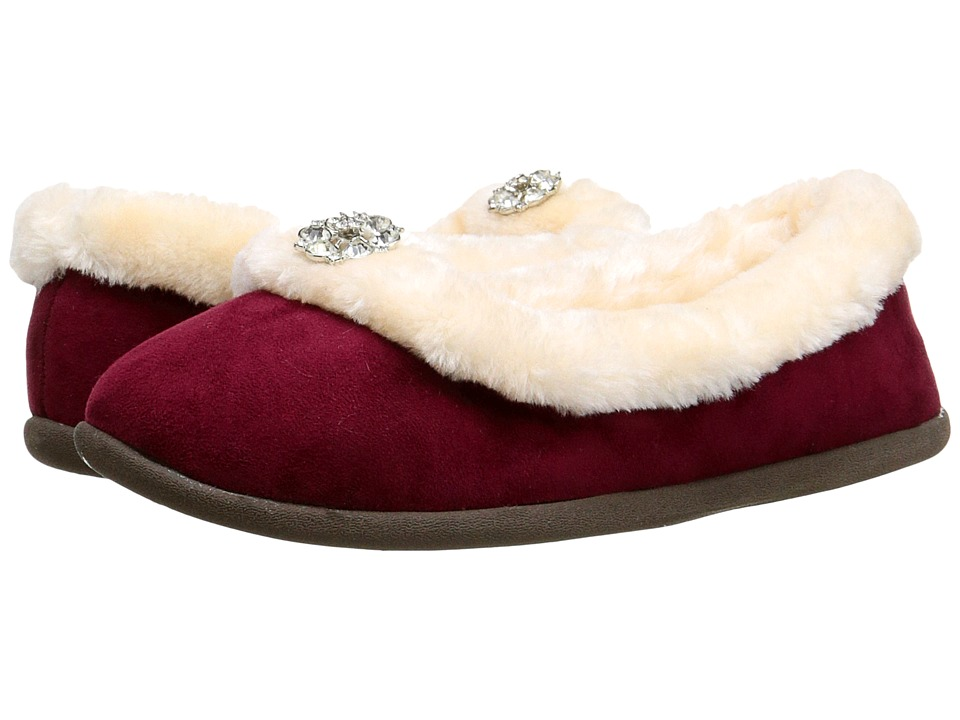 Daniel Green - Clarice (Burgundy) Women's Slippers