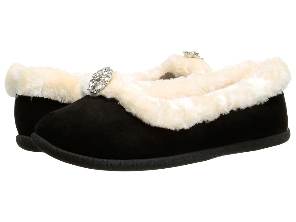 Daniel Green - Clarice (Black) Women's Slippers