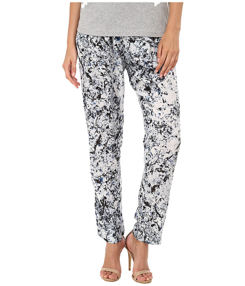 McQ - Pleat Front Loose Trouser (Marble Blue) Women