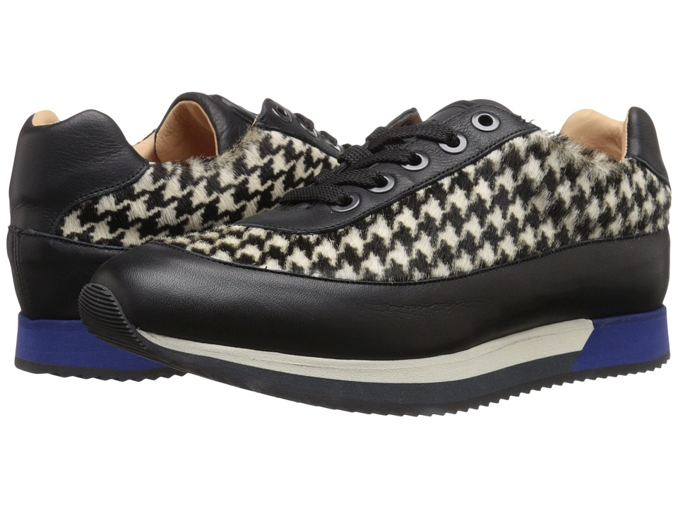 Viktor & Rolf S49WS0004 Black-White Womens Lace up casual Shoes