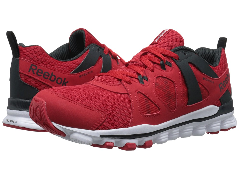 Reebok - Hexaffect Run 2.0 MT (Red Rush/White/Gravel/Black) Men's Running Shoes