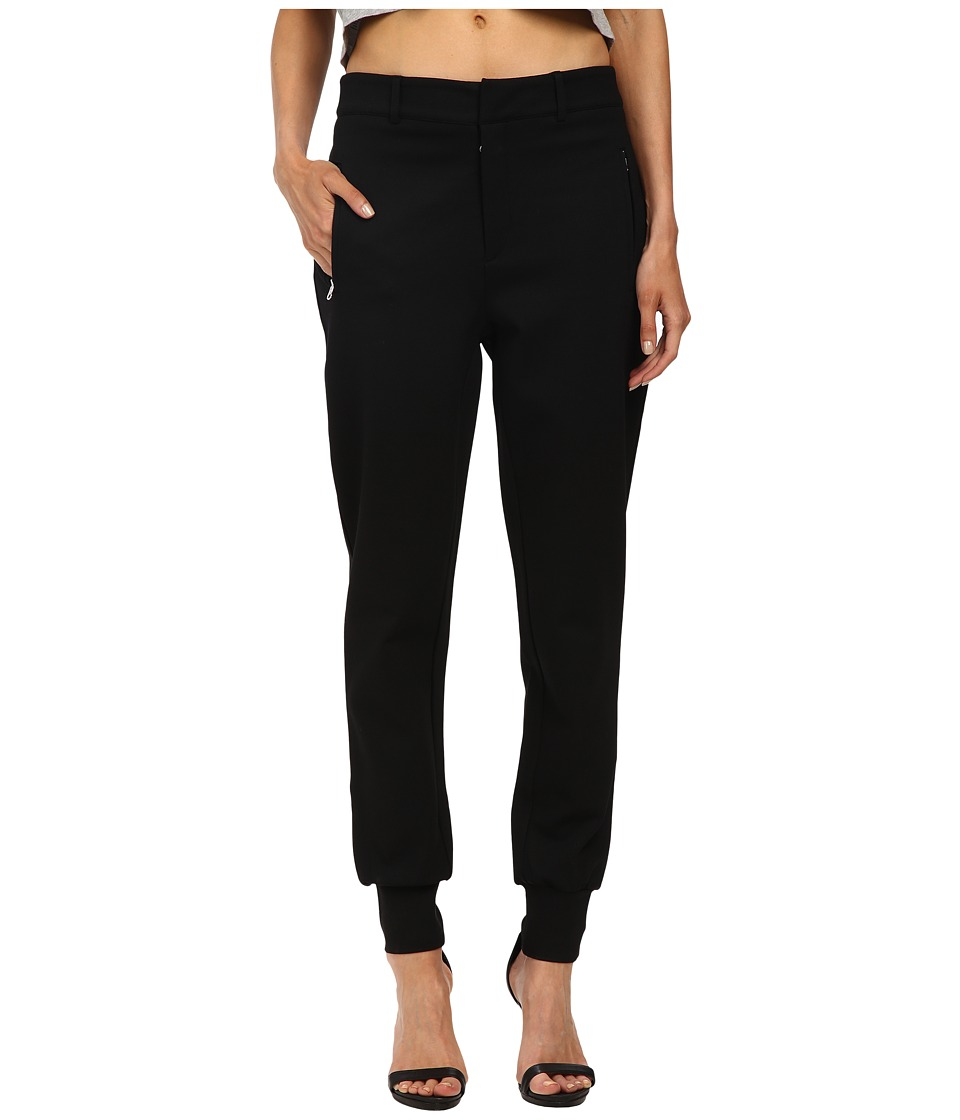 McQ - Tailored Pants (Darkest Black Solid Interlock) Women's Casual Pants