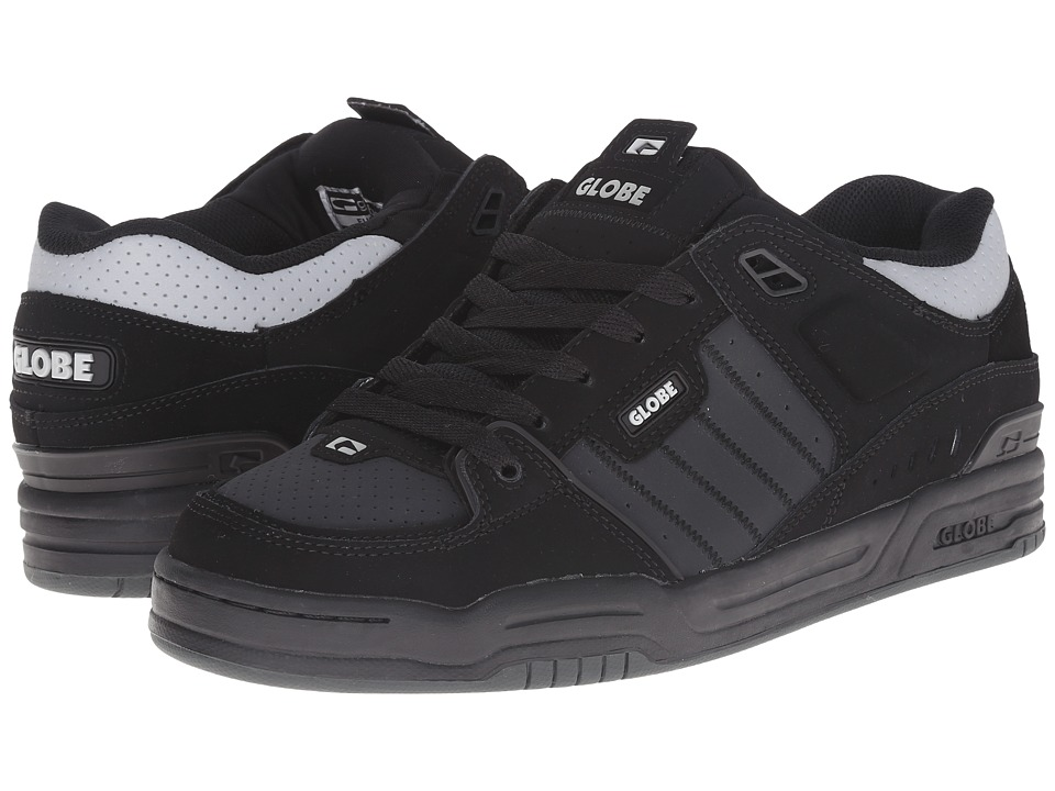 Globe - Fusion (Black/Night/Silver) Men's Skate Shoes