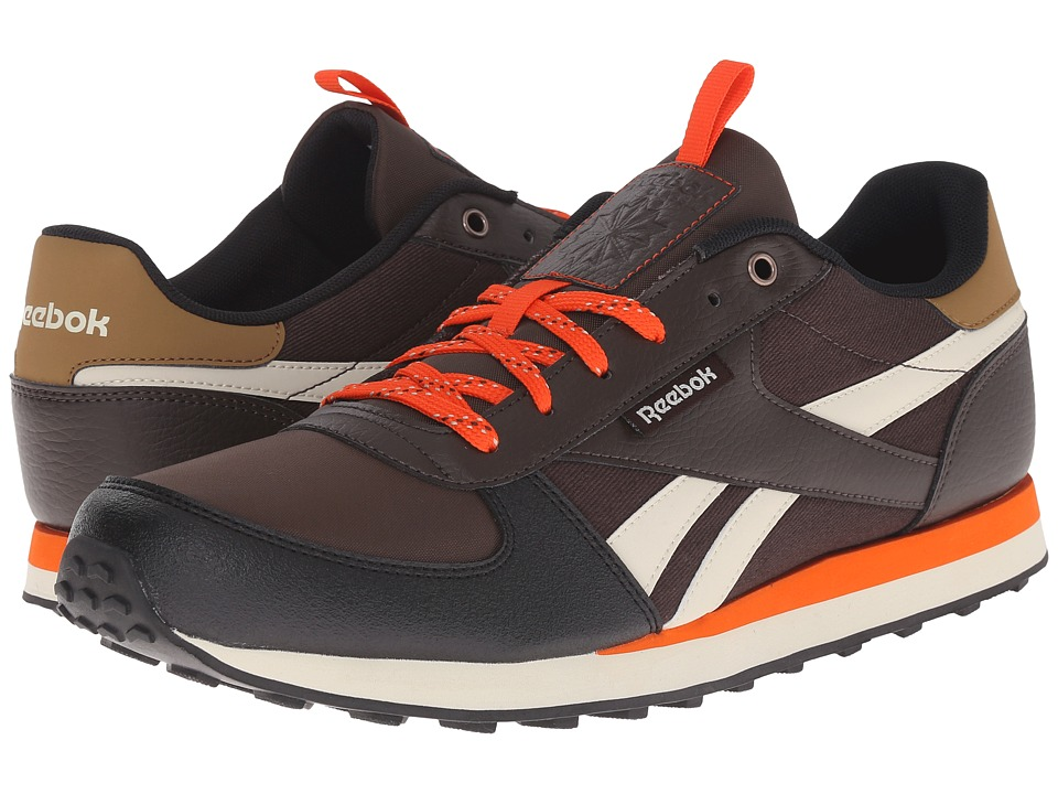 Reebok - Royal CL Jogger WLD (Dark Brown/Oatmeal/Black/Sepia/Ultima Orange/Paperwhite) Men's Classic Shoes