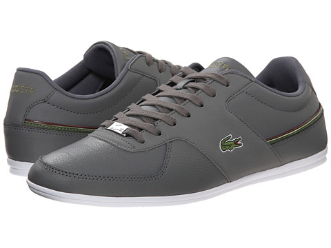Lacoste - Taloire Sport MTU (Dark Grey/Khaki) Men's Shoes