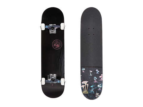 Globe - Raised Up Complete (Black On Black) Skateboards Sports Equipment