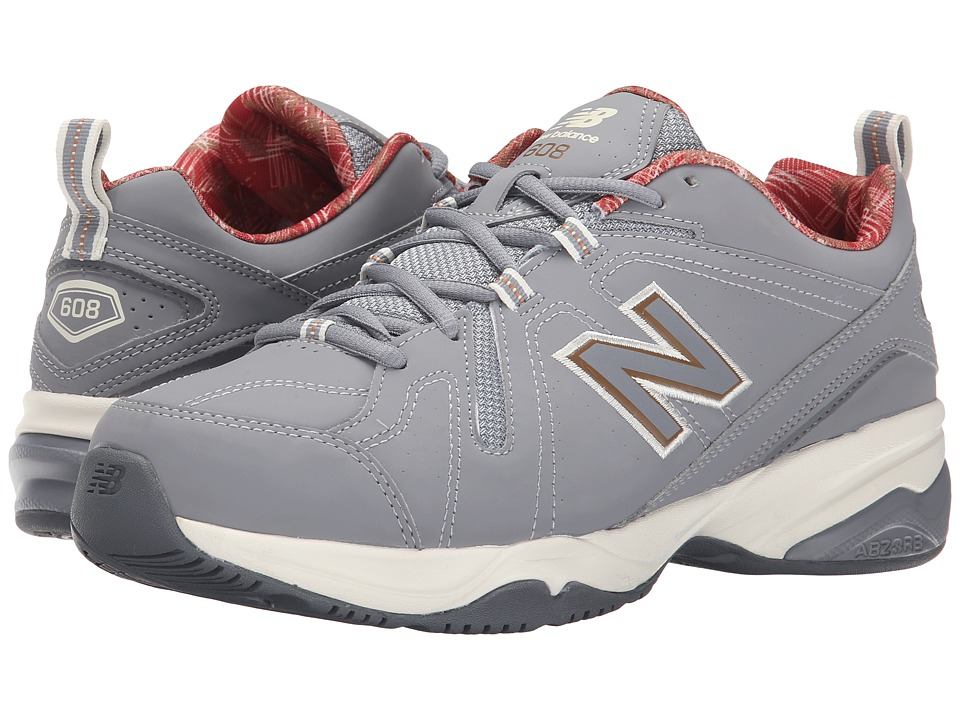New Balance - MX608v4 (Gray/Yellow) Men's Shoes