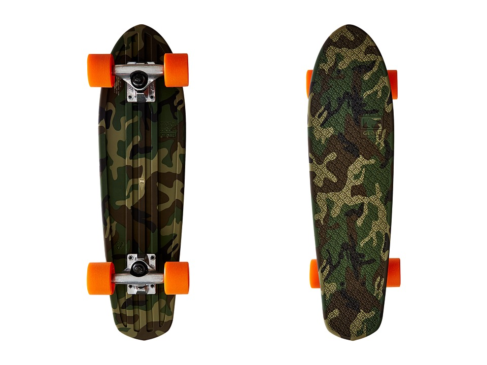 Globe - Bantam Cruiser (Camo/Orange) Skateboards Sports Equipment