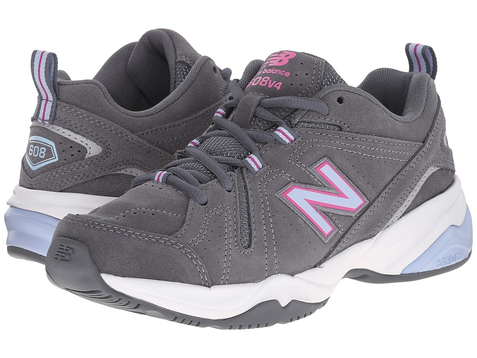 New Balance - WX608v4 (Dark Grey) Women's Shoes