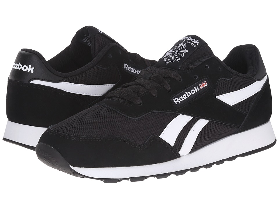 Reebok - Royal Nylon WT (Black/White) Men's Classic Shoes