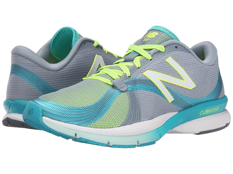 New Balance - WX88v1 (Blue/Yellow) Women's Shoes