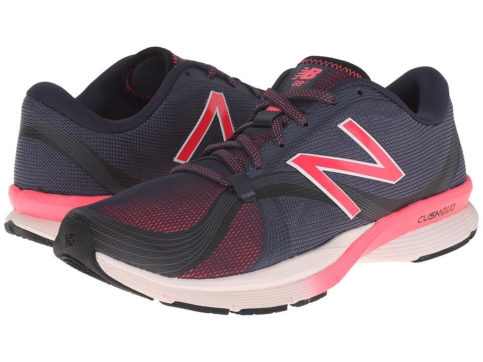 New Balance - WX88v1 (Black/Pink) Women's Shoes