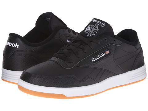 Reebok - Club Memory Tech (Black/White Gum) Men's Classic Shoes
