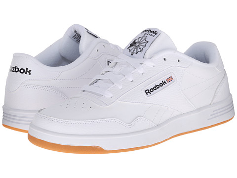 Reebok - Club Memory Tech (White/Black Gum) Men's Classic Shoes
