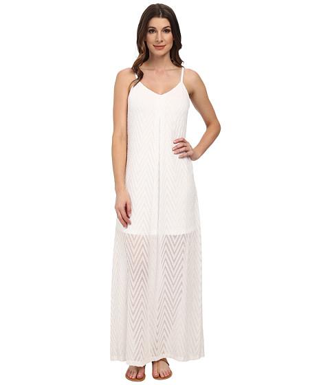 Calvin Klein - Slip Strap Maxi Dress (White) Women's Dress