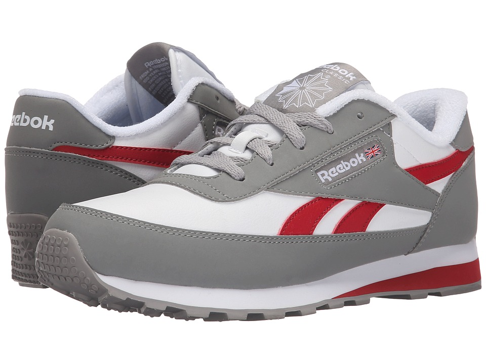 Reebok - Classic Renaissance WT (Carbon/White/Flash Red) Men