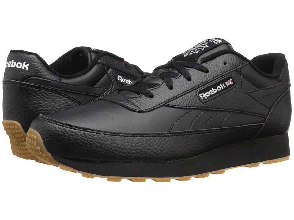 Reebok - Classic Renaissance Gum (Black/White Gum) Men's Classic Shoes