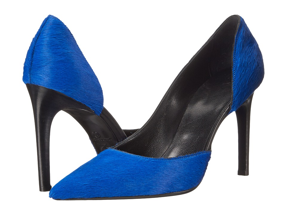 McQ - Haggerston Pump (Cobalt Pony Hair Calf) High Heels