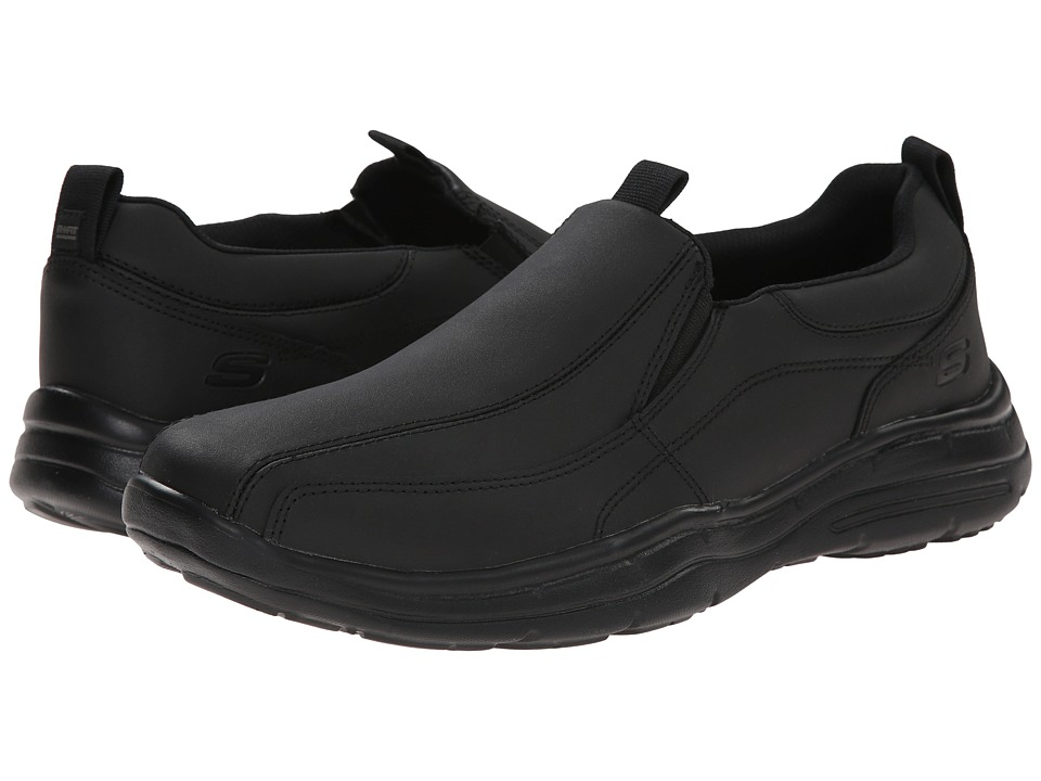 SKECHERS Glides Dockland (Black) Men