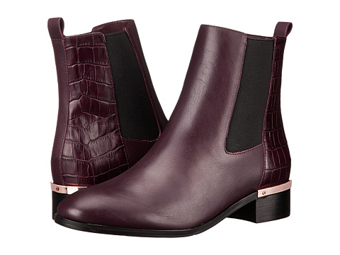 Ivanka Trump - Eday (Bordo/Beetroot/Bordo/Black) Women's Dress Pull-on Boots