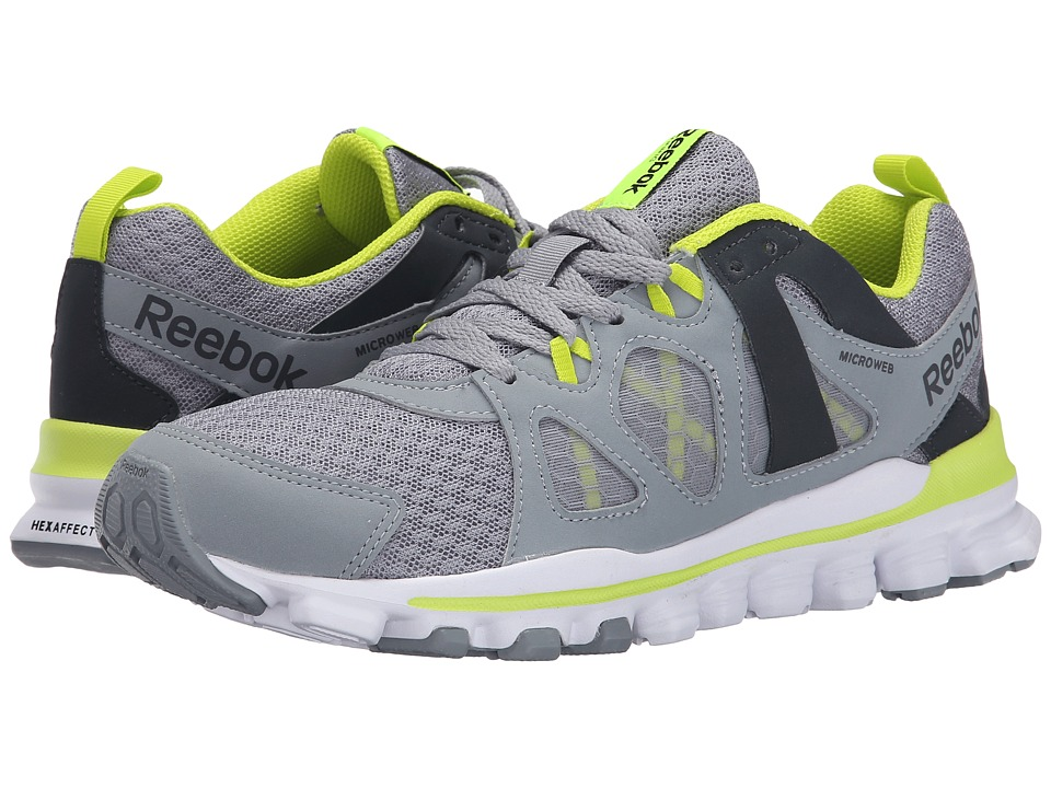 Reebok - Hexaffect Run 2.0 MT (Flat Grey/Gravel/Semi Solar Yellow/White) Women's Running Shoes