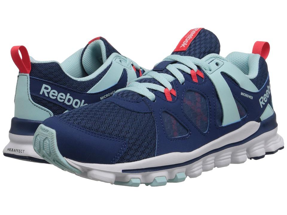 Reebok - Hexaffect Run 2.0 MT (Batik Blue/California Blue/Sheer Blue/Cool Breeze/Neon Cherry) Women