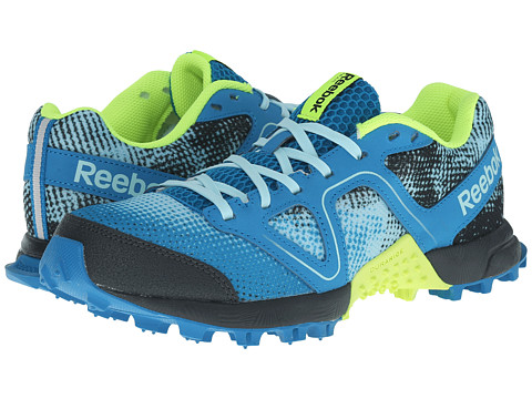 Reebok - Dirtkicker Trail II (Cool Breeze/Conrad Blue/Gravel/Batik Blue/Solar Yellow/Semi Sola) Women