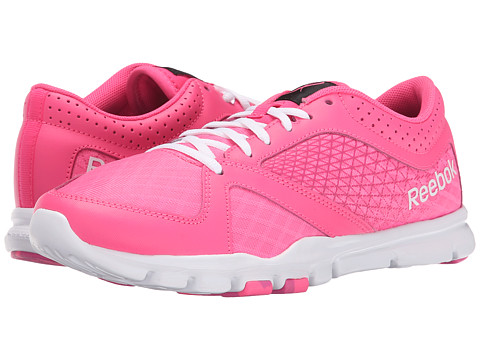 Reebok - Yourflex Trainette 7.0 L MT (Solar Pink/Charged Pink/White/Black/Avon) Women's Shoes