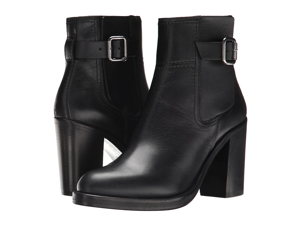 McQ - Wick Boot (Black Veg Calf Leather) Women