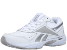 Reebok - Daily Cushion 3.0 RS (White/Pure Silver/Flat Grey/Pink)