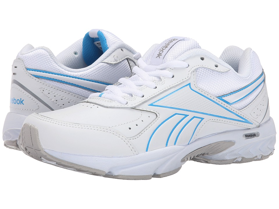 Reebok - Daily Cushion 3.0 RS (White/California Blue) Women