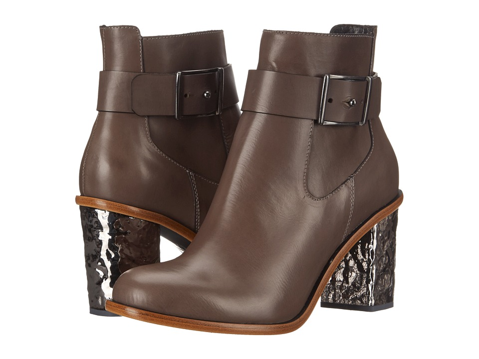 McQ - Shackwell Boot (Concrete Calf Leather) Women