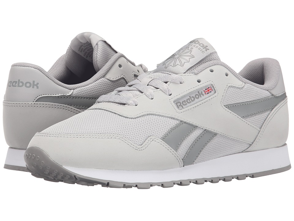 Reebok - Royal Nylon WT (Steel/Carbon/White) Women's Classic Shoes