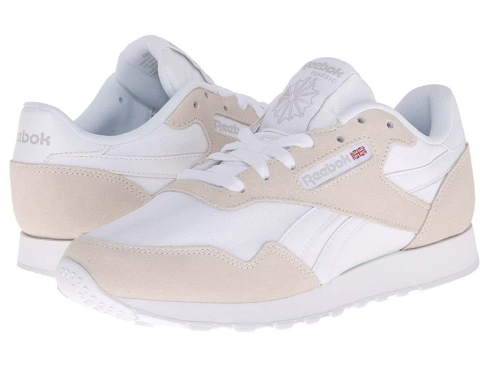 Reebok - Royal Nylon (White/Steel) Women