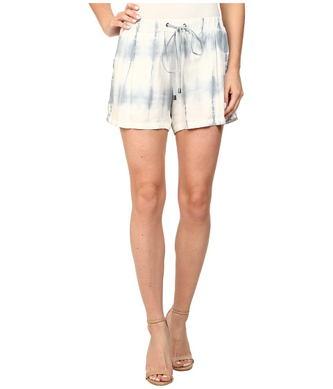 Splendid - Karpaz Tie-Dye Shorts (Grey Mist) Women