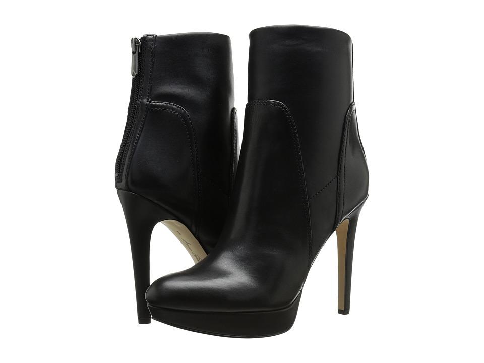 Sam Edelman Alyssa (Black Leather) Women