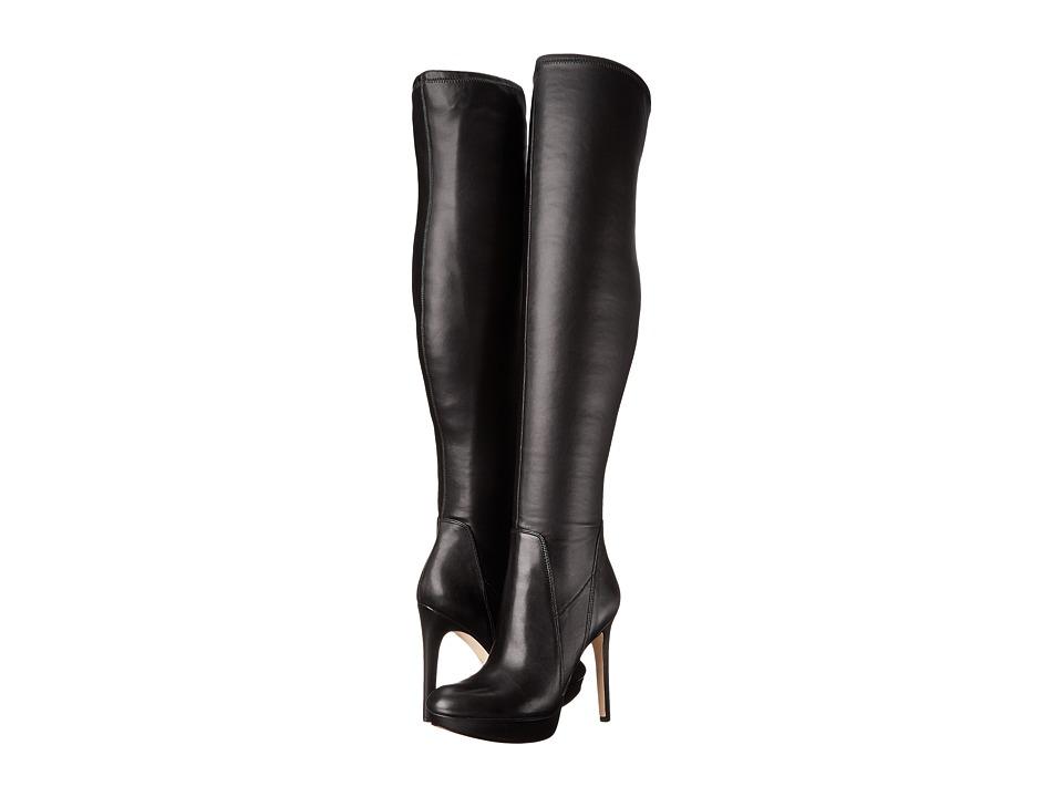 Sam Edelman - Amber (Black Leather) Women