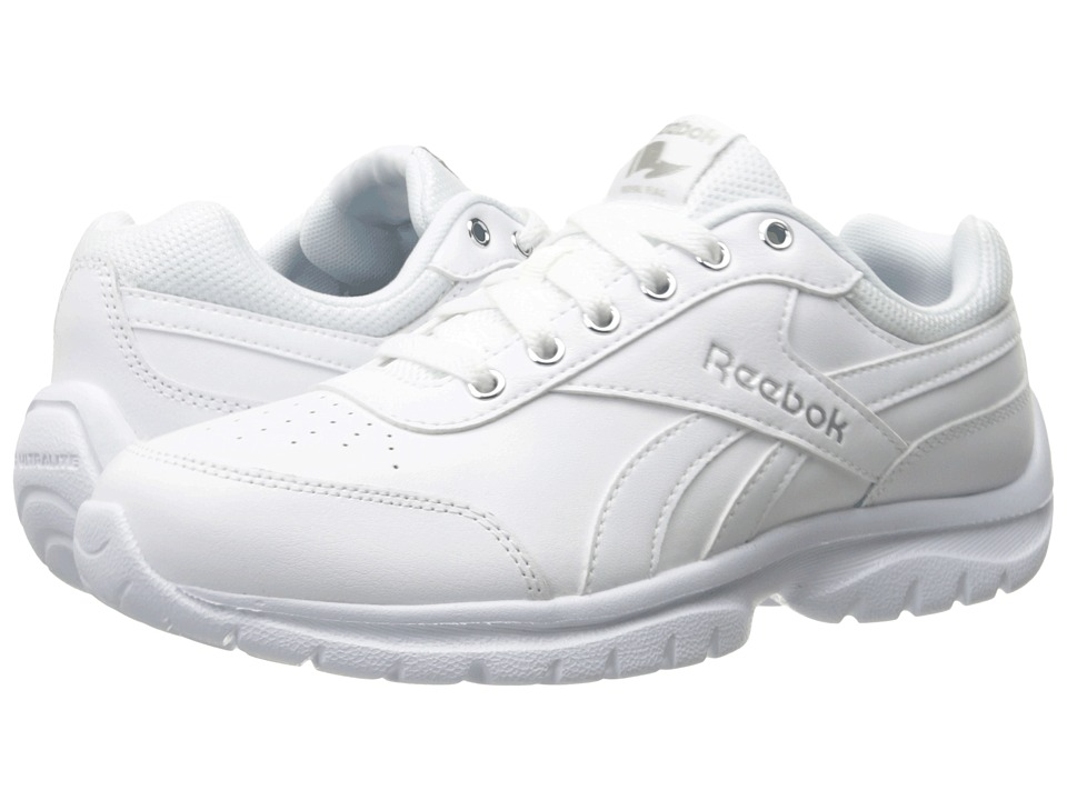 Reebok - Royal Lumina Pace (White/Silver Metallic) Women