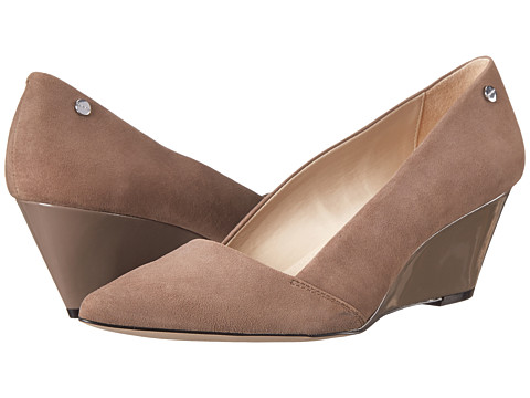 Calvin Klein - Bala (Winter Taupe Kid Suede) Women