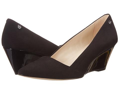 Womens Shoes Calvin Klein Bala Black Microsuede