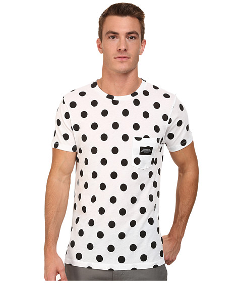 WeSC - Dot Tee (White) Men's T Shirt