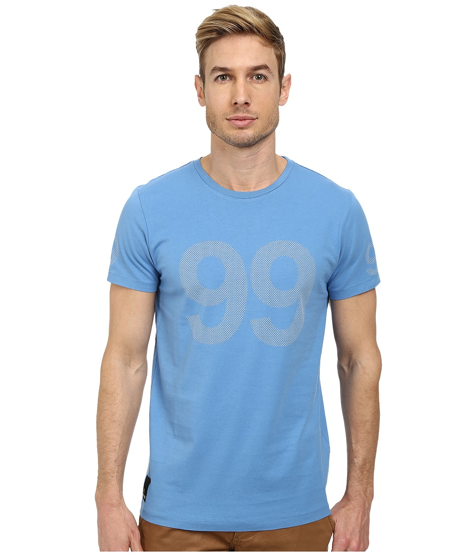 WeSC - 9 Dot 9 Tee (Cendre Blue) Men's T Shirt