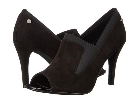 Womens Shoes Calvin Klein Kena Black Microsuede/Elastic