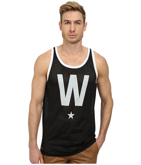 WeSC - W Star Tank Top (Black) Men