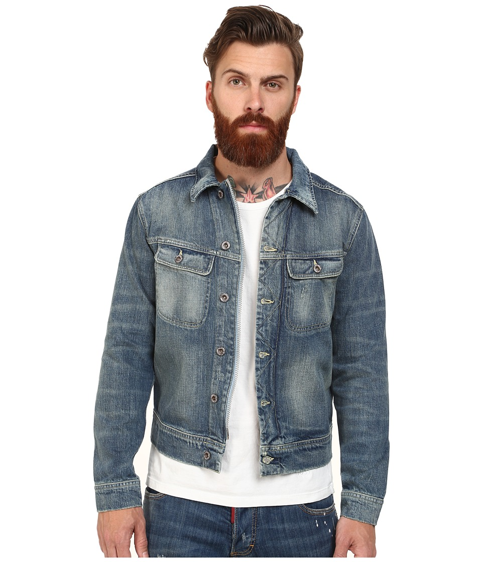 Gant Rugger - R. The Indigo Jacket (Indigo) Men's Coat