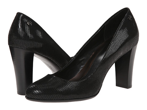 Calvin Klein - Olive 2 (Black Pearlized Reptile Print) Women's Shoes