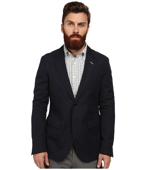 Gant Rugger - R. Cotton Canvas Unconstructed (Eclipse) Men's Jacket
