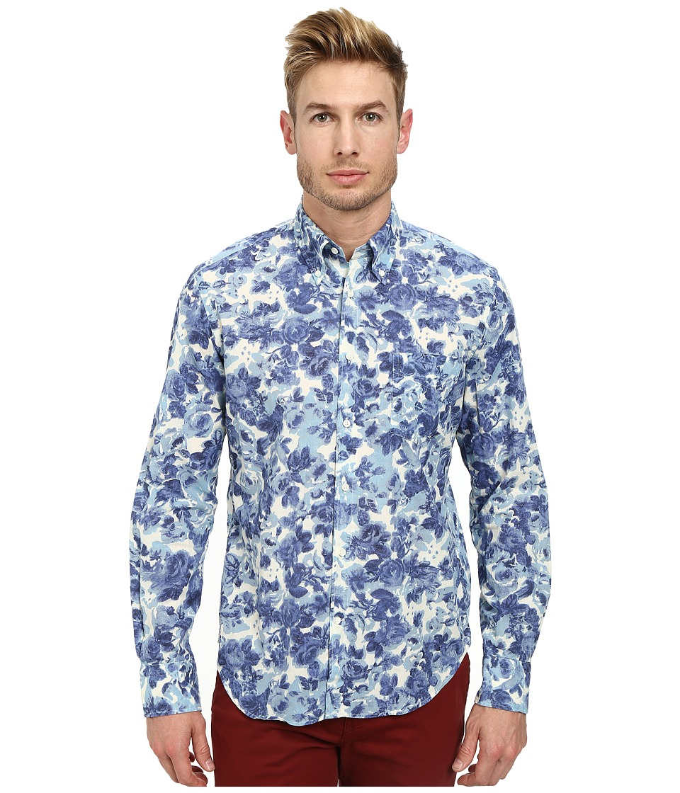 Gant Rugger - R. Porcelain Shirt E-Z Obd (Cream) Men